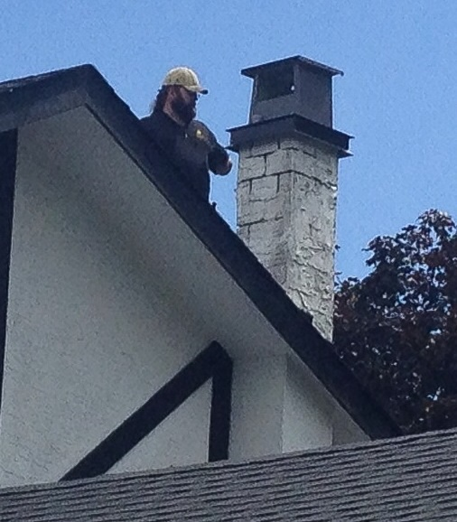 Repair Chimney top