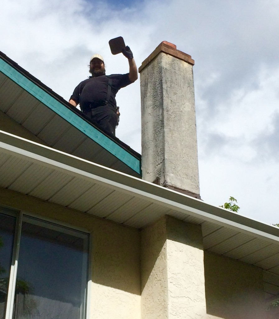 chimney flue cover