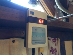 Digital Flue Gas Thermometer