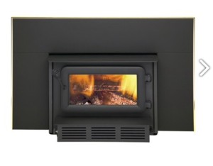 Flame Fireplace Insert
