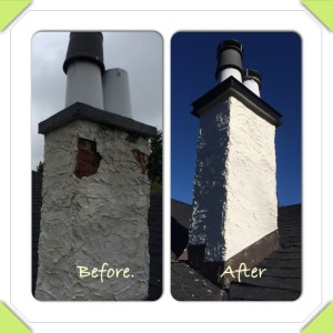 Stucco Chimney Repair