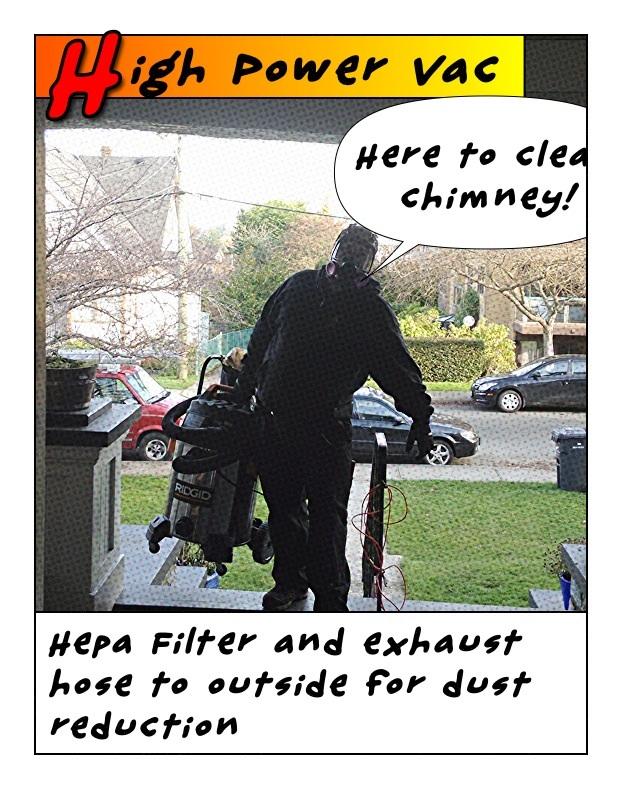 Hepa Soot Vacuum Cleaner With Exhaust Hose