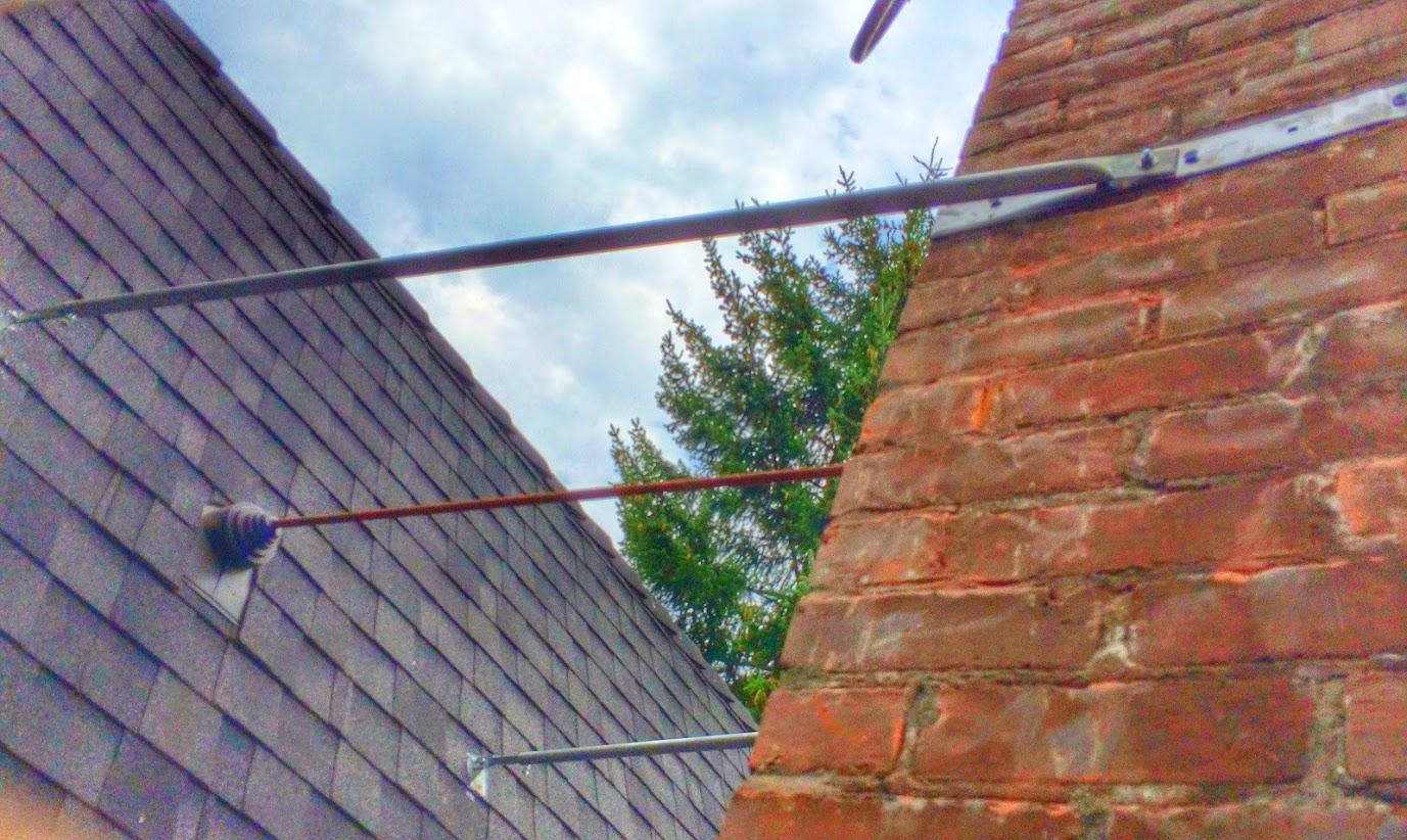 Chimney Roof Brace