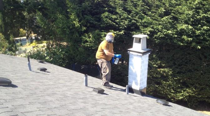 Waterproofing Brickwork on Chimney